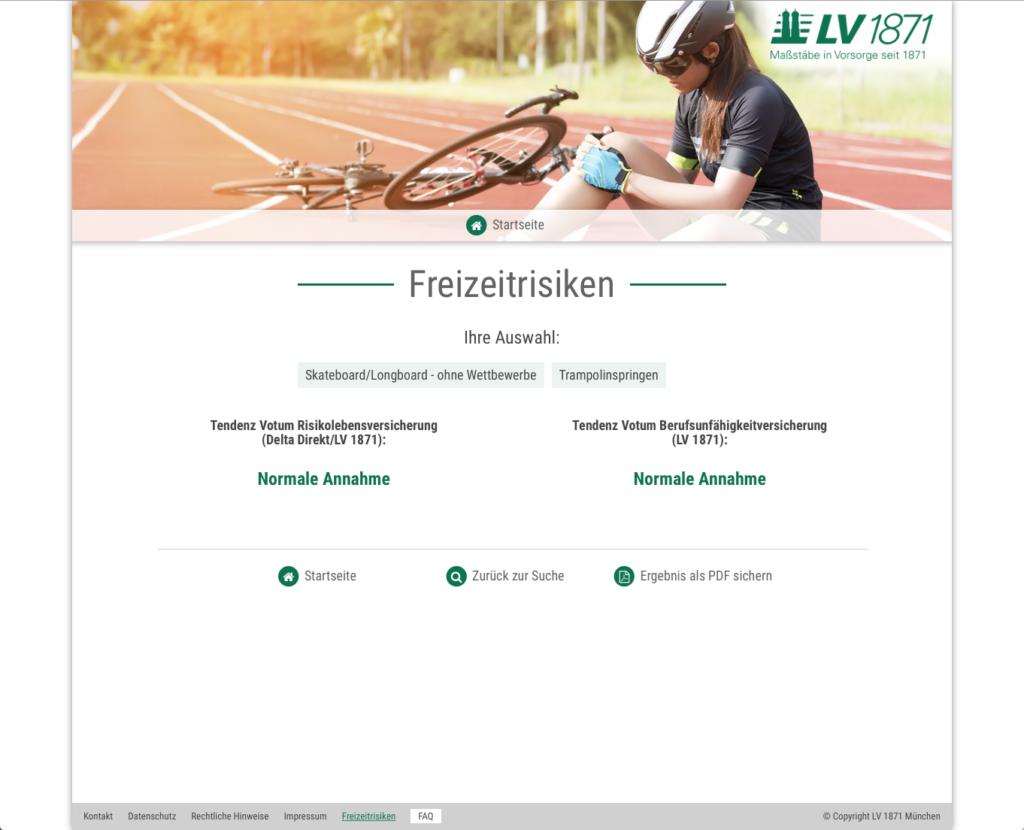 Härlin - Referenzen - LV1871