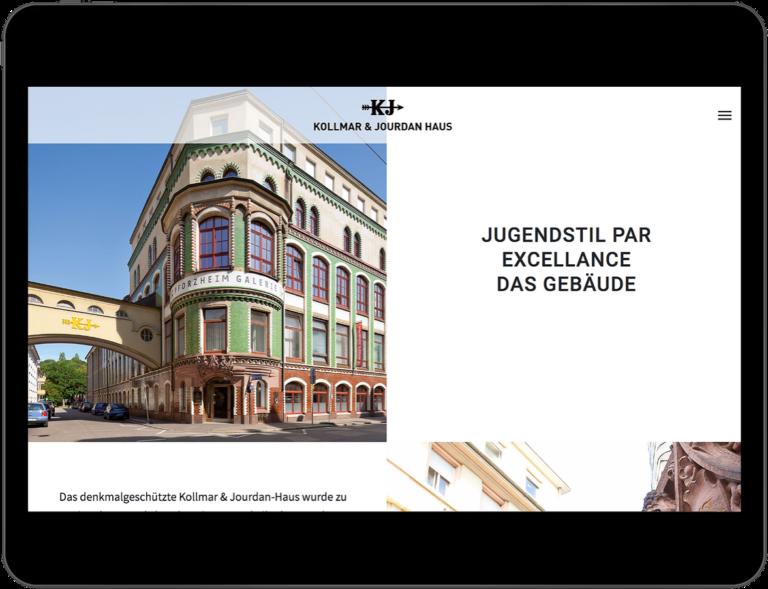 Webdesign KJ Pforzheim
