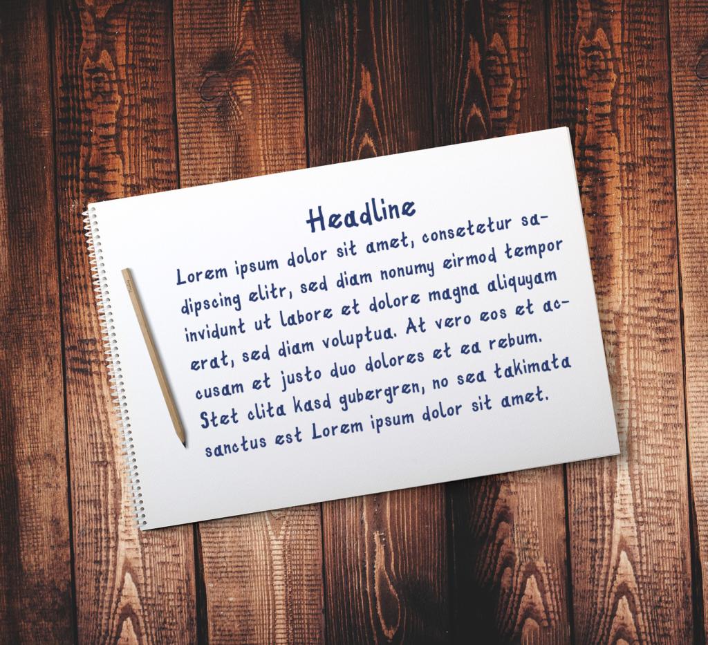 Tinty - freie Display Font