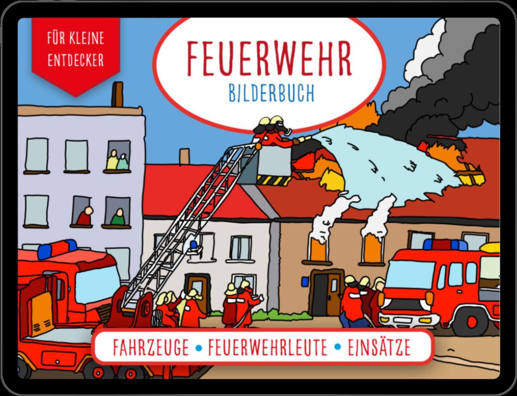 Feuerwehr eBook Bilderbuch bei Amazon
