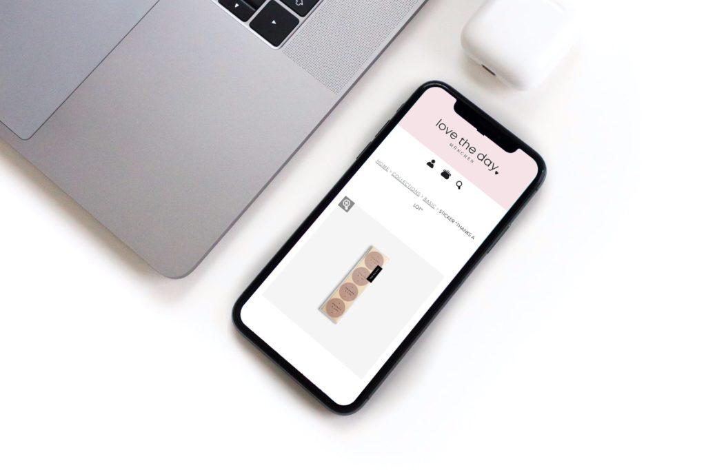 WooCommerce responsive Webseite auf Handy