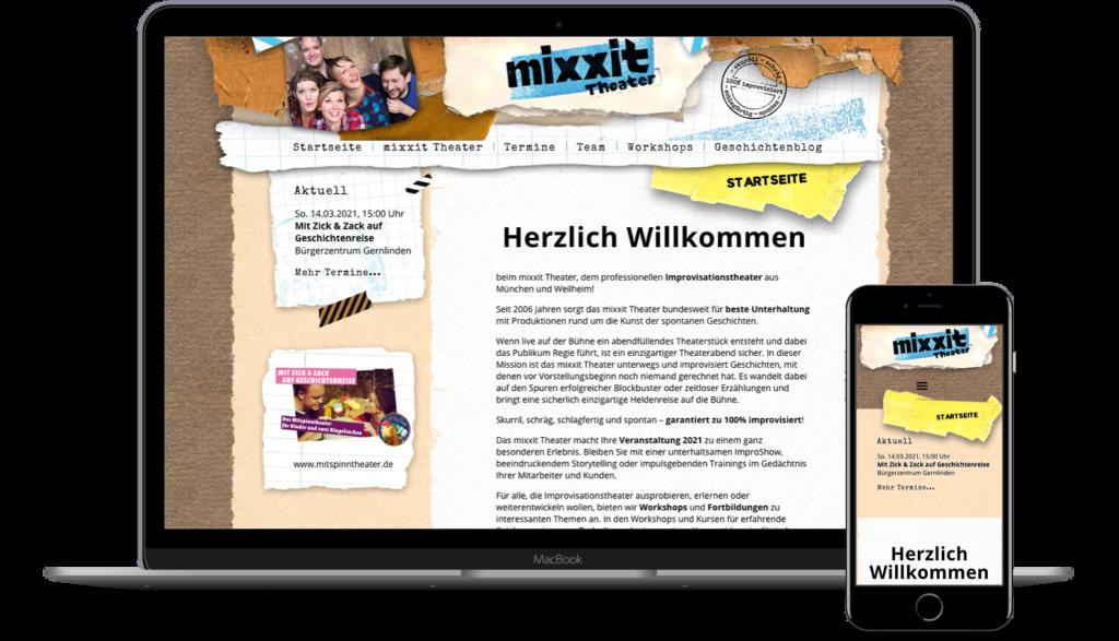 Multisite mixxit.de
