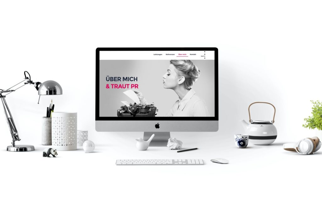 PR Werbeagentur Webseite