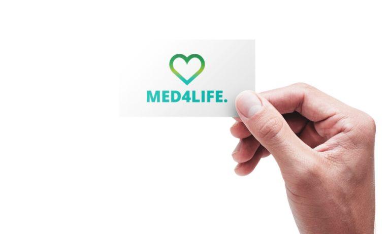Logo Design MED4LIFE.